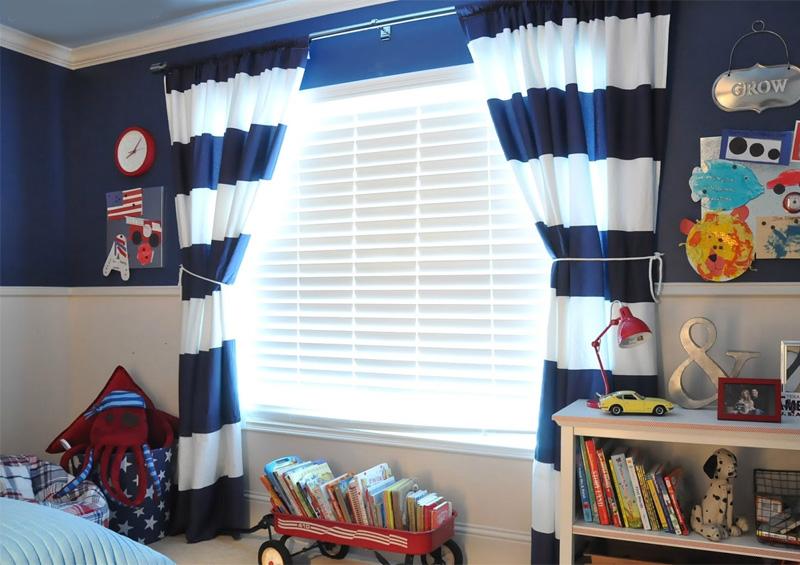 фото шторы для мальчиков