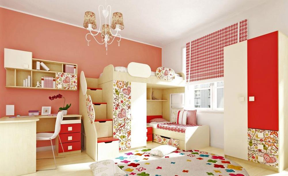 Мебель на двоих детей фото